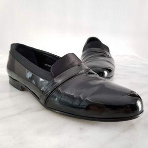 MEZLAN Mirage Men's Tuxedo Loafer Patent Leather